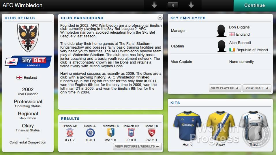 Football Manager Classic 2014 для PS Vita - Box Art, скриншоты, трейлер, описание