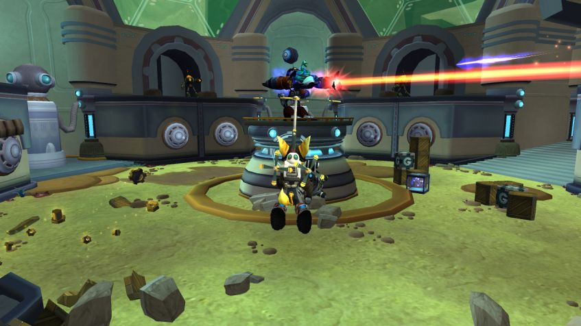 The Ratchet & Clank Trilogy для PS Vita - Box Art, скриншоты, трейлер, описание