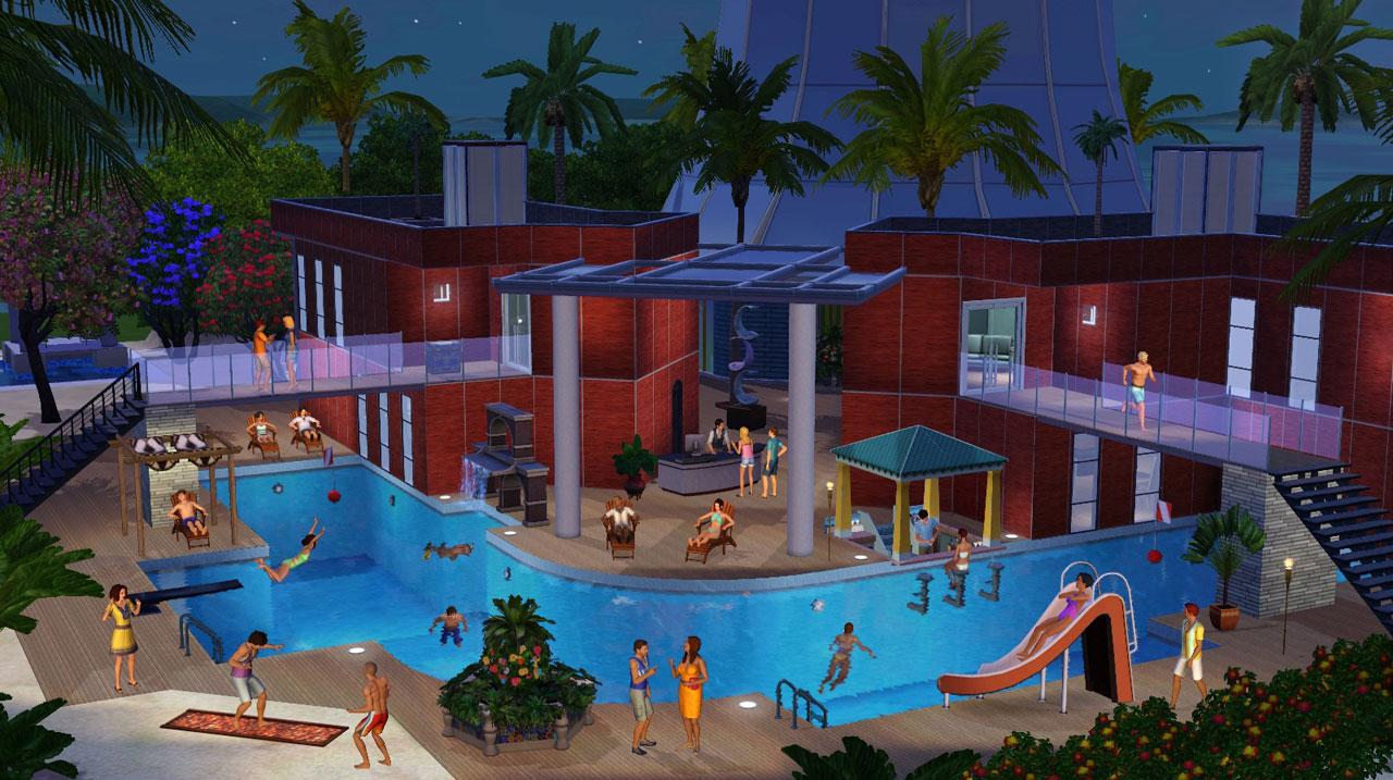 The Sims 3: Райские острова (2013) для PC