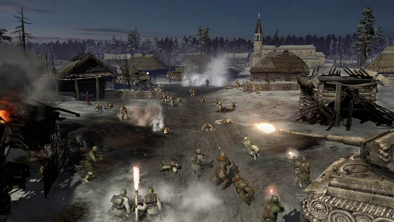 Company of Heroes 2: Master Collection (RUS|ENG) [RePack] от R.G. Механики